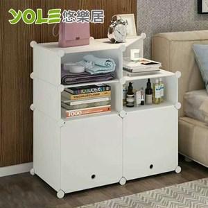 【YOLE悠樂居】隨心DIY百變組合角落置物櫃-2列3層(A-3)