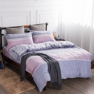 【夢工場】古典風情精梳棉薄被套床包組-加大