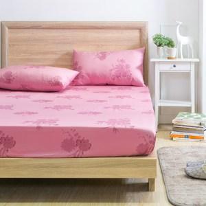 MONTAGUT-春日花語-200織紗精梳棉三件式床包組(雙人)