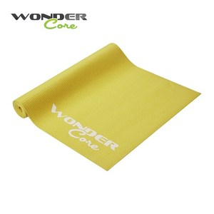 Wonder Core 輕薄環保防滑瑜珈墊 (4mm)-檸檬綠