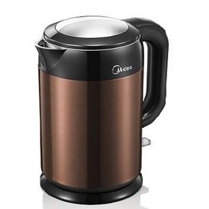 Midea  美的 1.7L 雙層防燙不繡鋼快煮壺  MK-H317E6B深咖啡色