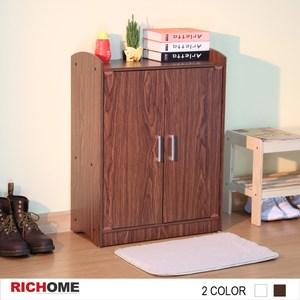 【RICHOME】愛麗絲超值鞋櫃-2色胡桃木