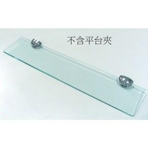 浴室強化玻璃平台 寬60x深12cm