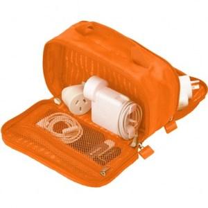 Lapoche 集線收納包-橘色