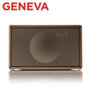 Geneva Classic S HIFI 藍牙鬧鐘收音機喇叭棕色