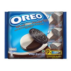 OREO 奧利奧黑白巧克力口味三明治隨手包(9x28.5g)x12入