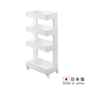 日本製造 4層置物附輪櫃(窄版)