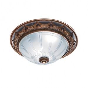 亞維格古典2燈環型吸頂燈