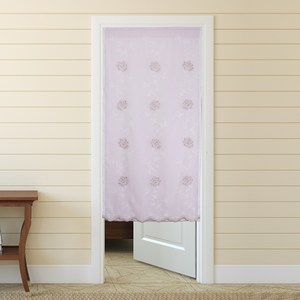 HOLA 幸福玫瑰雙層風水簾 88x176cm