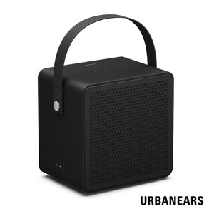 【Urbanears】瑞典設計 Ralis 可攜式藍牙喇叭(精簡黑)