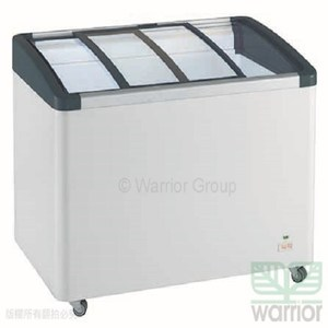 利勃 LIEBHERR 412L弧型玻璃推拉冷凍櫃 EFI-4153 (LED燈
