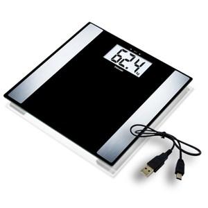 德國 博依 beurer 電腦傳輸體脂計 BF480 體重計 (黑色)