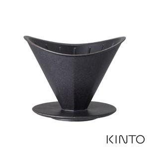 日本KINTO OCT八角陶瓷濾杯(4杯量)-黑