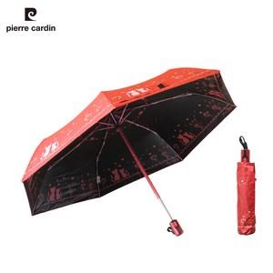 【皮爾卡登 X Weather Me】心心相印輕量自動傘(紅色)紅色