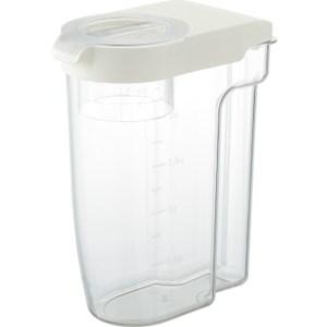 【LIBERALISTA】可冷藏多功能收納保鮮儲米罐 - 白色