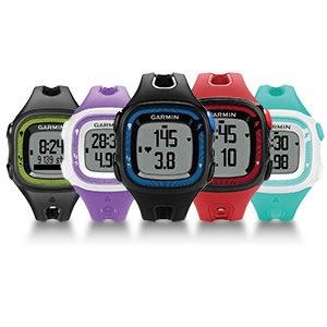 Garmin跑步錶Forerunner 15, SM, 紫白