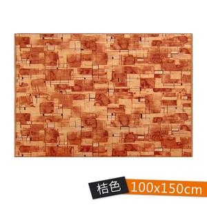 星辰廳毯100x150cm 桔
