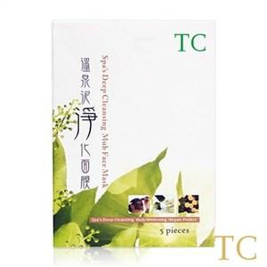 【TC】保濕X平衡X細緻 溫泉泥淨化面膜(5片/盒)