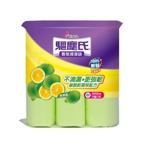 驅塵氏香氛清潔袋-檸檬香 中 3捲