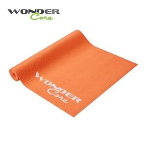 Wonder Core 輕薄環保防滑瑜珈墊 (4mm)-橘色