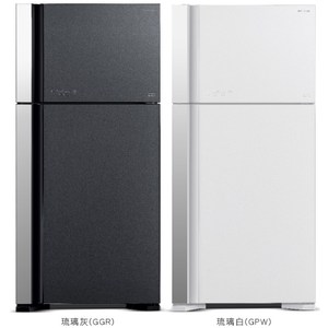 【HITACHI 日立】570L變頻琉璃兩門冰箱 RG599B琉璃白