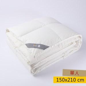 HOLA 90/10法國羽絨防蟎抗菌冬被 單人