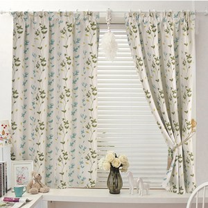 【三房兩廳】藍色西雅圖遮光窗簾-200X165cm
