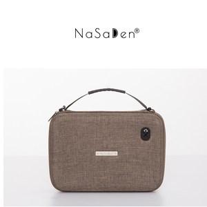 NaSaDen 3C收納包-咖啡棕