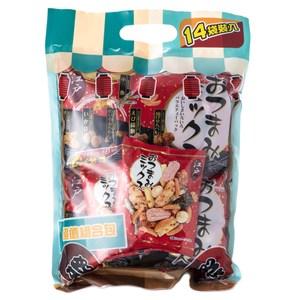江戶綜合米菓分享包 14袋入 302.4g INADAMAME 株式会社いなだ豆