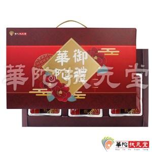 華陀扶元堂-養生御禮‧四-1盒(黑鑽櫻桃高麗紅蔘飲)