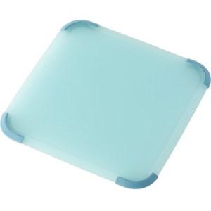 【LIBERALISTA】抗菌雙面砧板方形- 水藍色