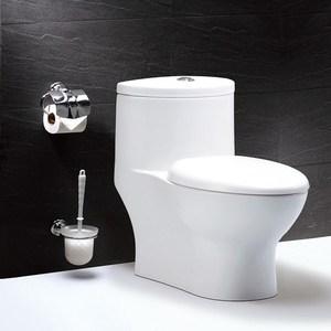 【CAESAR 凱撒衛浴】二段式省水單體馬桶牙色 管距30cm