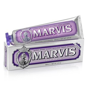 【MARVIS】義大利原裝進口牙膏系列(85ml)-茉莉薄荷*6