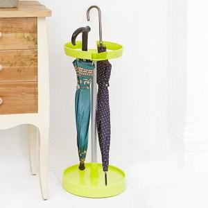 馬卡龍彩色收納雨傘架(綠色)