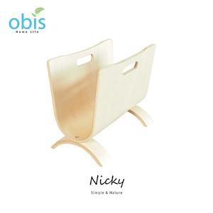 【obis】Nicky雜誌U型架-椴木色