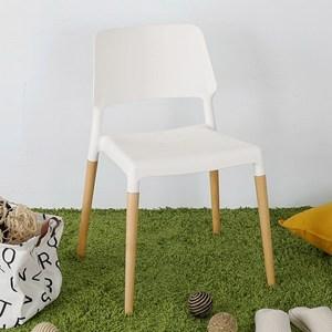 Homelike 韋勃北歐風餐椅(純淨白)