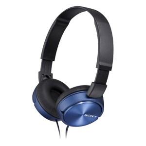SONY MDR-ZX310AP 摺疊耳罩式立體聲耳機 藍色