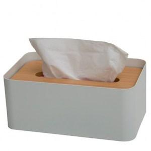 HOLA home羅夫特衛生紙盒 白
