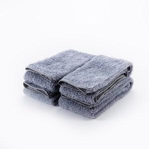 HOLA 超細纖維毛巾四入組灰