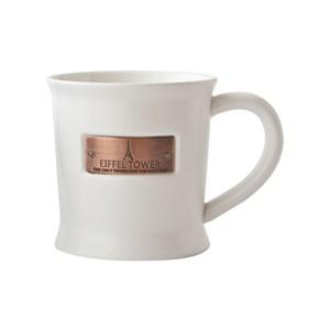 JH艾菲爾馬克杯造型盆 白