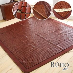【BUHO】頂級專利手工縫製碳化麻將蓆(雙人)