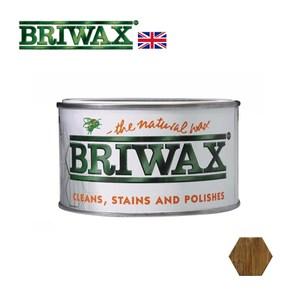 【英國Briwax】拋光上色蠟-黑橡木色 370g(上色蠟)