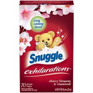 美國 Snuggle 烘乾機香衣片---櫻花玫瑰木(70片*3盒)