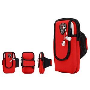 PUSH!戶外休閒用品運動臂包跑步健身包U55-1紅色紅色