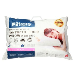 3M Filtrete 淨呼吸健康防蟎枕心-加高型