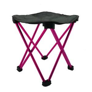 OUTLIVING極輕鋁合金折椅-粉紅