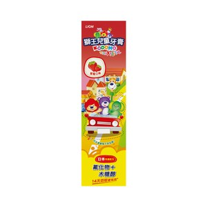 獅王兒童牙膏-草莓45gX12
