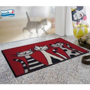 kleentex居家設計地墊-Three Cats-50X75cm