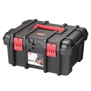 KETER16吋寬塑膠工具箱 黑色