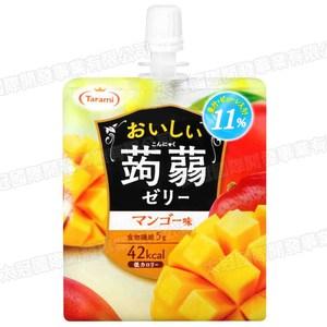 日本tarami果汁蒟蒻飲便利包芒果